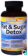Fat & Sugar Detox, Crystal Star, 60 Veggie Caps