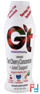 Organic Tart Cherry Concentrate plus Joint Support, Genesis Today, 16 fl oz (473 ml)