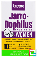 Jarro-Dophilus Probiotics, Jarrow Formulas, 10 Billion, Women, 60 Capsules