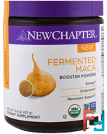 Fermented Maca Booster Powder, New Chapter, 2.2 oz (63 g)
