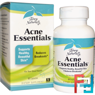 Acne Essentials, EuroPharma, Terry Naturally, 60 Capsules