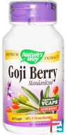 Goji Berry, Standardized, Nature's Way, 60 Veggie Caps
