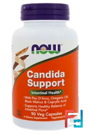 Candida Support, Now Foods, 90 Veg Capsules