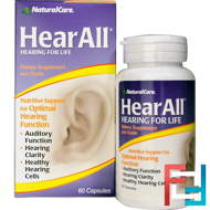 HearAll, Natural Care, 60 Capsules