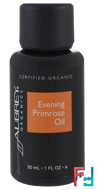 Evening Primrose Oil, Organic, Aubrey Organics, 1 fl oz, 30 ml