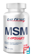 MSM capsules, Be First, 120 capsules