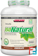 IsoNatural, 100% Ultra-Pure Natural Whey Protein Isolate, ALLMAX Nutrition, 5 lbs