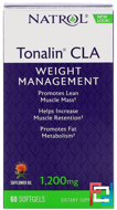 Tonalin, CLA, Natrol, 60 Softgels