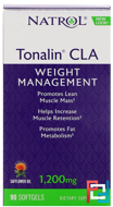 Tonalin CLA, Natrol, 1200 mg, 90 Softgels
