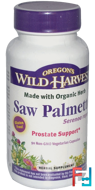 Saw Palmetto, Oregon's Wild Harvest, 90 Non-GMO Veggie Caps