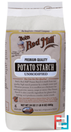 Potato Starch, Unmodified, Bob's Red Mill, 24 oz (680 g)
