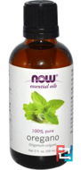 Essential Oils, Oregano, Now Foods, 59 ml