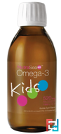 NutraSea Kids, Omega-3, Bubble Gum Flavor, Ascenta, 6.8 fl oz, 200 ml