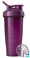 BlenderBottle, Classic With Loop, Plum, Sundesa, 28 oz