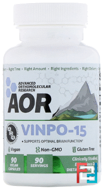 Vinpo·15, Advanced Orthomolecular Research AOR, 90 Veggie Caps