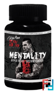 Mentality, Rich Piana 5% Nutrition, 90 caps