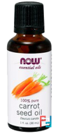 Essential Oils, Carrot Seed Oil, Now Foods, 30 ml