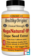 MegaNatural-BP Grape Seed Extract, Healthy Origins, 300 mg, 150 Veggie Caps