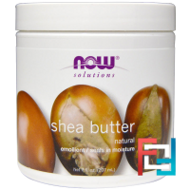 Solutions, Shea Butter, Now Foods, 454 g