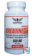 Creatin HCL, Dark Pharm, 500 mg, 90 caps