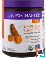 Fermented Turmeric Booster Powder, New Chapter, 2.2 oz (63 g)