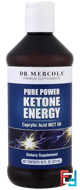 Pure Power Ketone Energy, Dr. Mercola, 16 oz, 473 ml