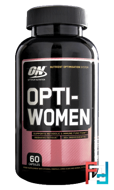 Opti-Women, Optimum Nutrition, 60 Capsules