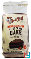 Gluten Free Chocolate Cake Mix, Bob's Red Mill, 16 oz (453 g)