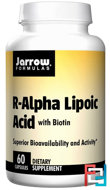 R-Alpha Lipoic Acid, with Biotin, Jarrow Formulas, 60 Capsules