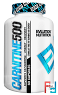 Carnitine 500, EVLution Nutrition, 60 Capsules