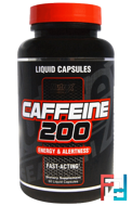 Caffeine 200, Nutrex Research Labs, 60 Liquid Capsules