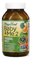 Baby & Me 2, MegaFood, 120 Tablets