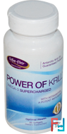 Power of Krill, Omega-3 Supercharged, Life Flo Health, 60 Softgels