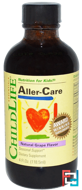 Aller-Care, Natural Grape Flavor, ChildLife, 4 fl oz (118.5 ml)
