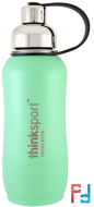 Thinksport, Insulated Sports Bottle, Mint Green, Think, 25 oz (750 ml)