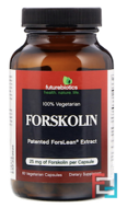 Forskolin, FutureBiotics, 62.5 mg, 40%, 60 Veggie Caps