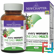 Every Woman's One Daily Multi, New Chapter, 96 Tablets