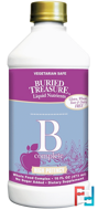 Nutritionals, B Complete, Buried Treasure, 16 fl oz, 473 ml