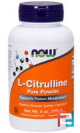 L-Citrulline, Pure Powder, Now Foods, 113 g