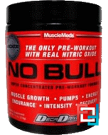 Discontinued  - No Bull XMT, Pre-Workout, MuscleMeds, 230 g