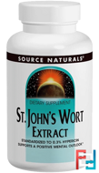 St. John's Wort Extract, 300 mg, Source Naturals, 240 Tablets
