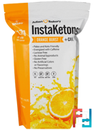InstaKetones, Orange Burst + Caffeine, Julian Bakery, 1.16 lbs, 525 g