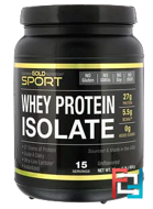 Whey Protein Isolate, Instantized, Ultra-Low Lactose, California Gold Nutrition, Unflavored, 1 lb, 16 oz, 454 g