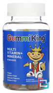 Multi-Vitamin & Mineral, For Kids, Gummi King, 60 Gummies
