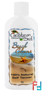 Beach Colours, Natural Self Tanner, Caribbean Solutions, 6 oz