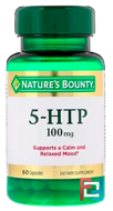 5-HTP, Nature's Bounty, 100 mg, 60 Capsules