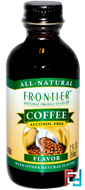 Coffee Flavor, Alcohol-Free, Frontier Natural Products, 2 fl oz, 59 ml
