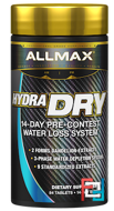 HydraDry, Ultra-Potent Diuretic + Electrolyte Stabilizer, ALLMAX Nutrition, 84 Tablets