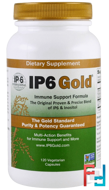 IP6 Gold, Immune Support Formula, IP-6 International, 120 Vegetarian Capsules