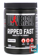 Ripped Fast, Advanced, High Potency Fat Burner, Universal Nutrition, 120 Capsules